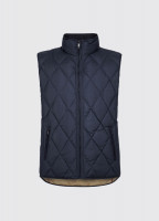 Mulranny Men's Quilted Gilet - Navy