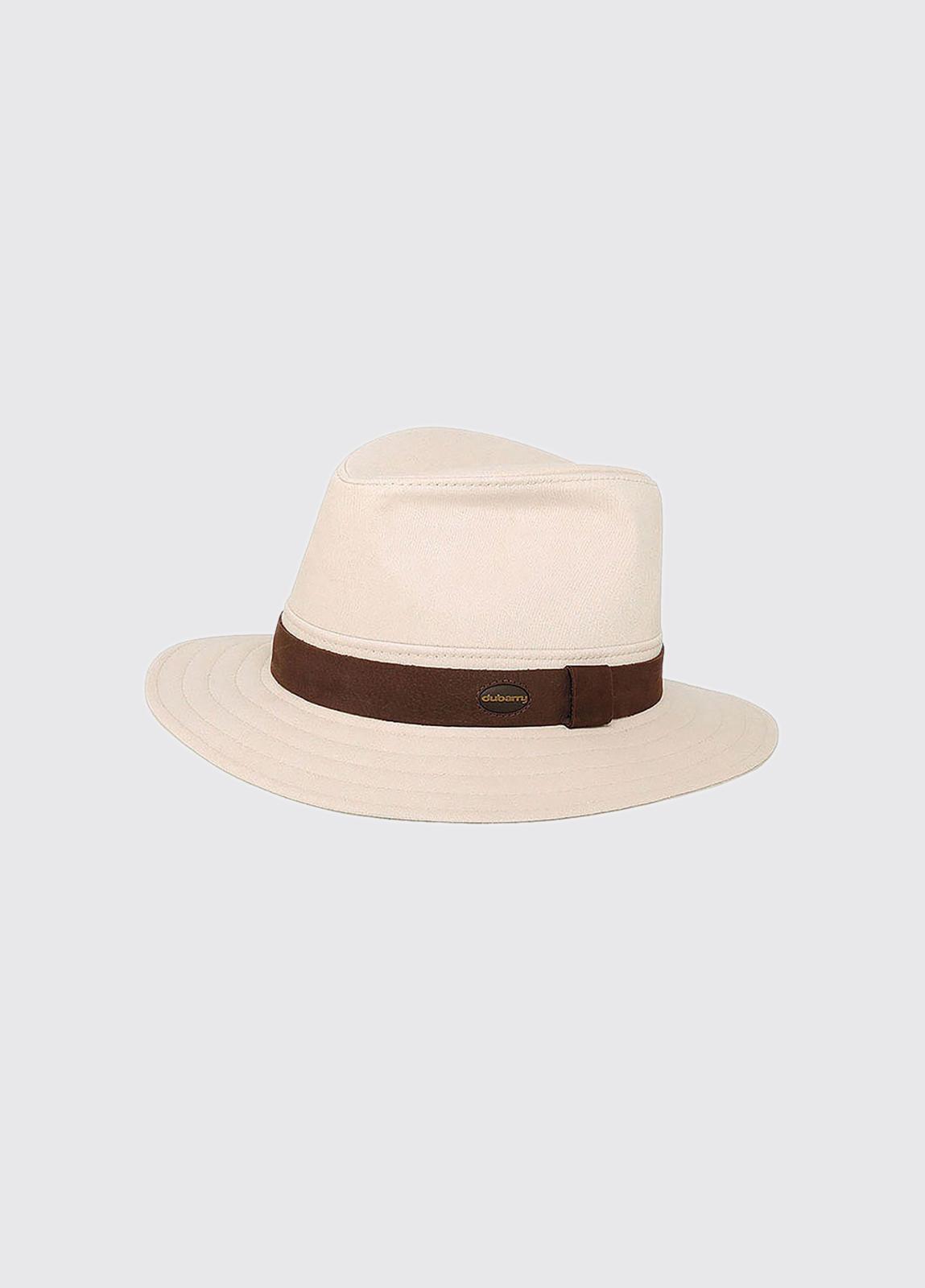 Robert Fedora style hat - Stone