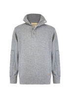 Shakelton Mens Sweater - Light Grey