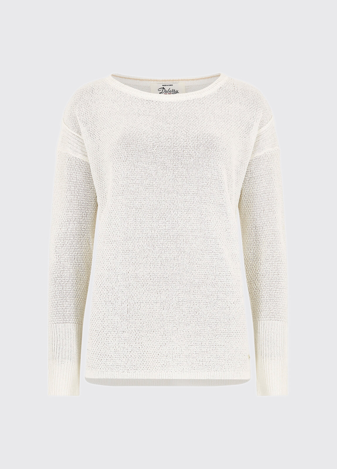 Woodford Knit Top - White