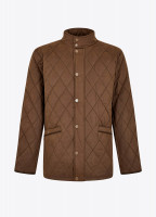 Bantry Quilted Jacket - Cigar