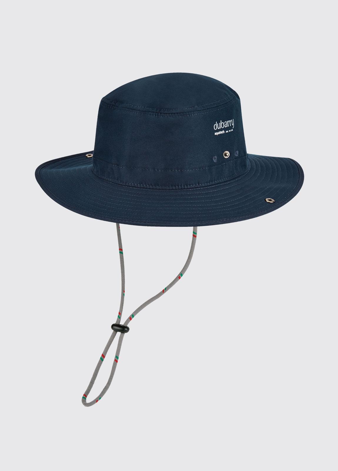 Genoa Brimmed Sun Hat - Navy