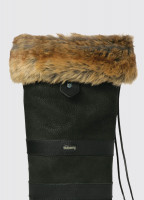 Faux Fur Boot Liners - Chinchilla