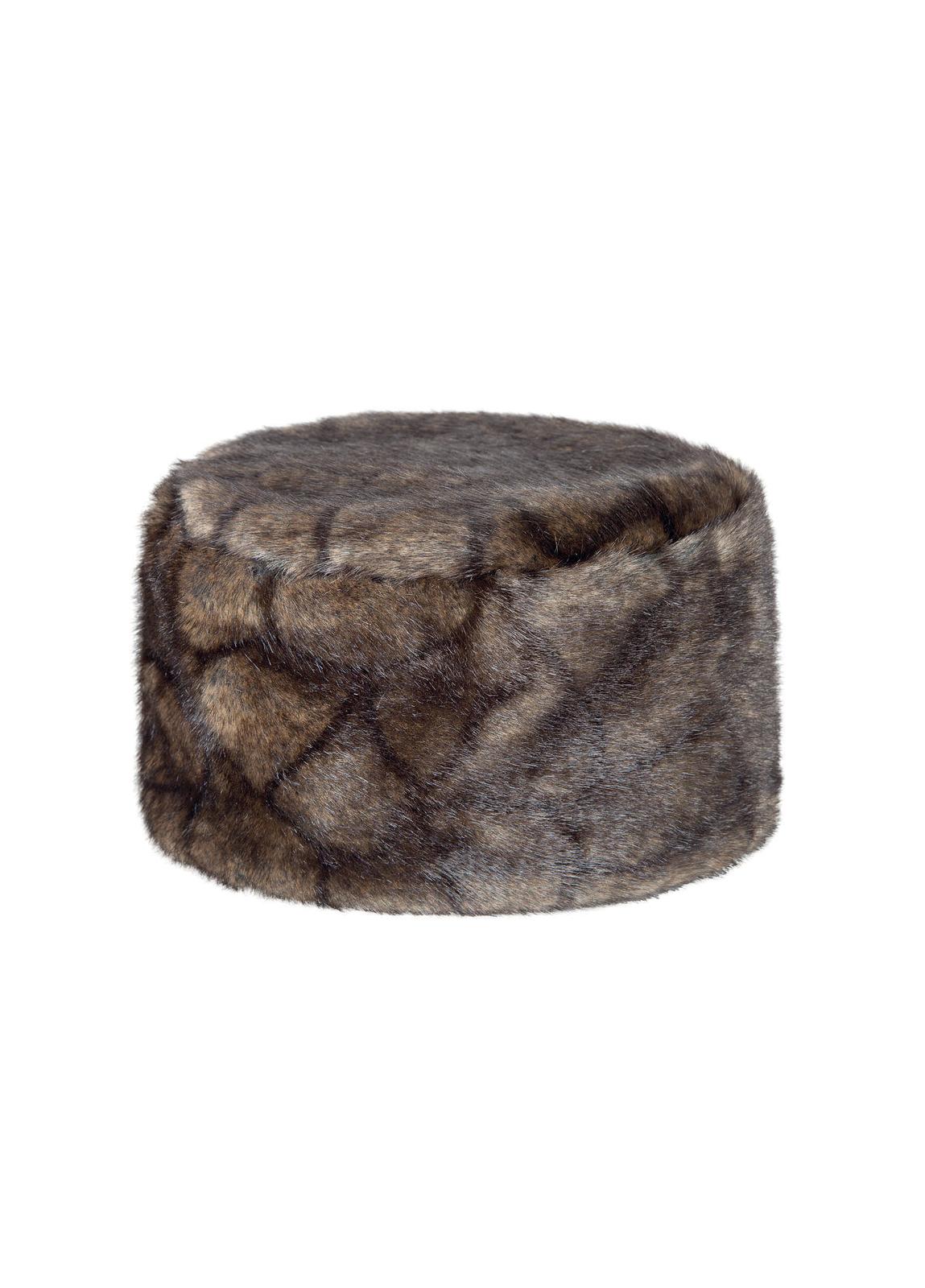 Avoca Faux Fur Hat - Elk