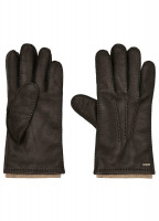Lisryan Leather Gloves - Black