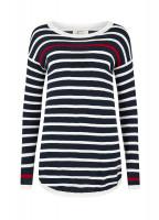 Abbeyside Sweater - Navy Multi