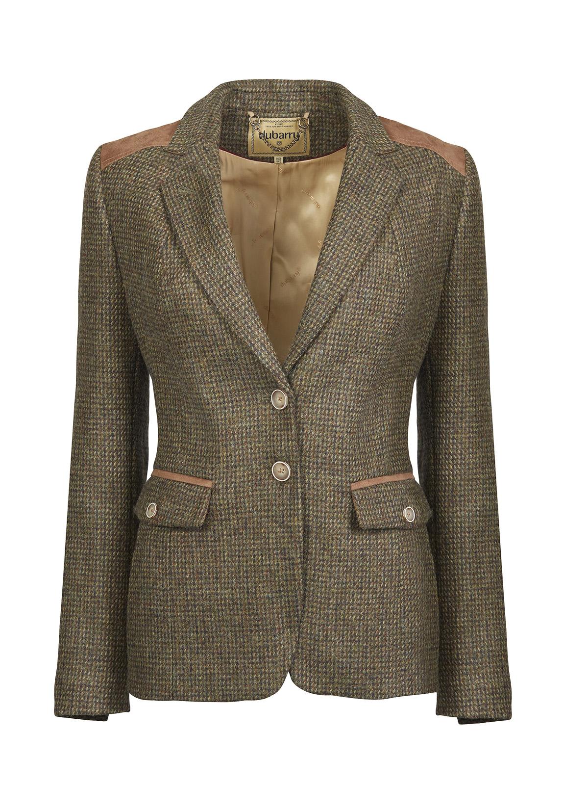 Dubarry_ Pearlwort Tweed Blazer - Heath_Image_2