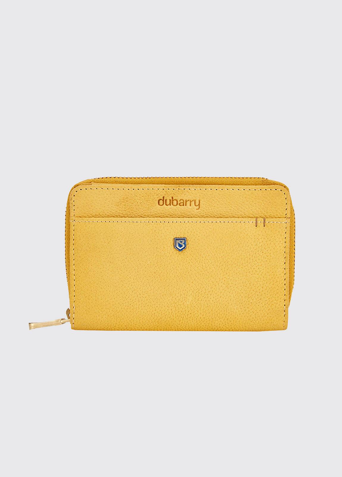 Portrush Leather Wallet - Sunflower