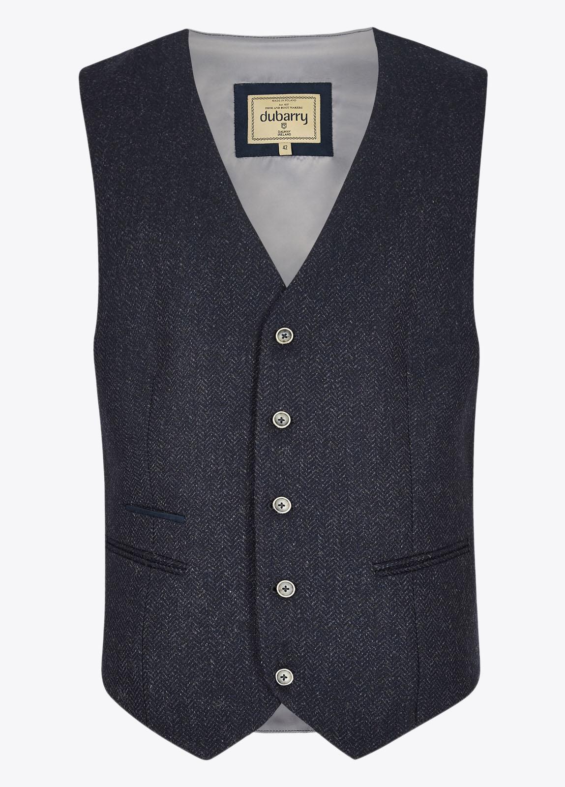 Ballyshannon Tweed Waistcoat - Midnight