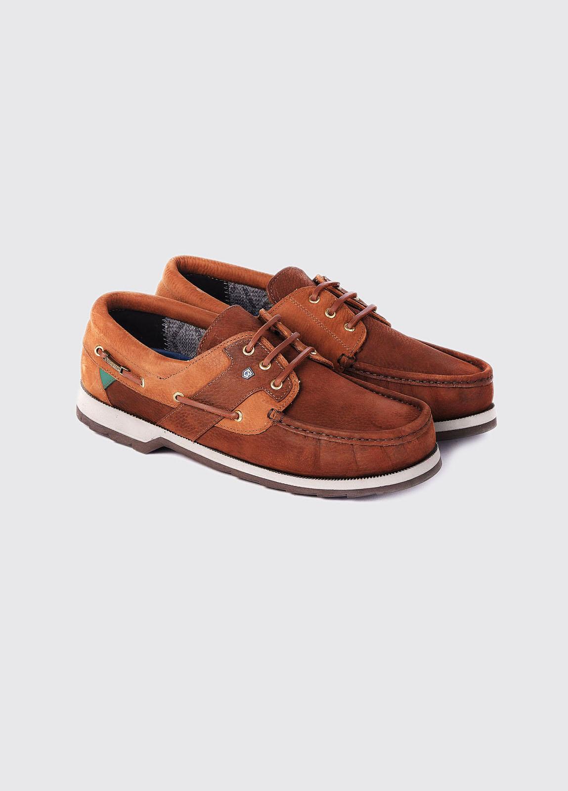 Clipper Deck Shoe - Brown