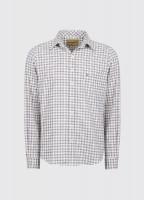 Slane Men's Cotton Button Up Shirt - Teak