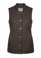 Wilde Womens Quilted Gilet - Verdigris