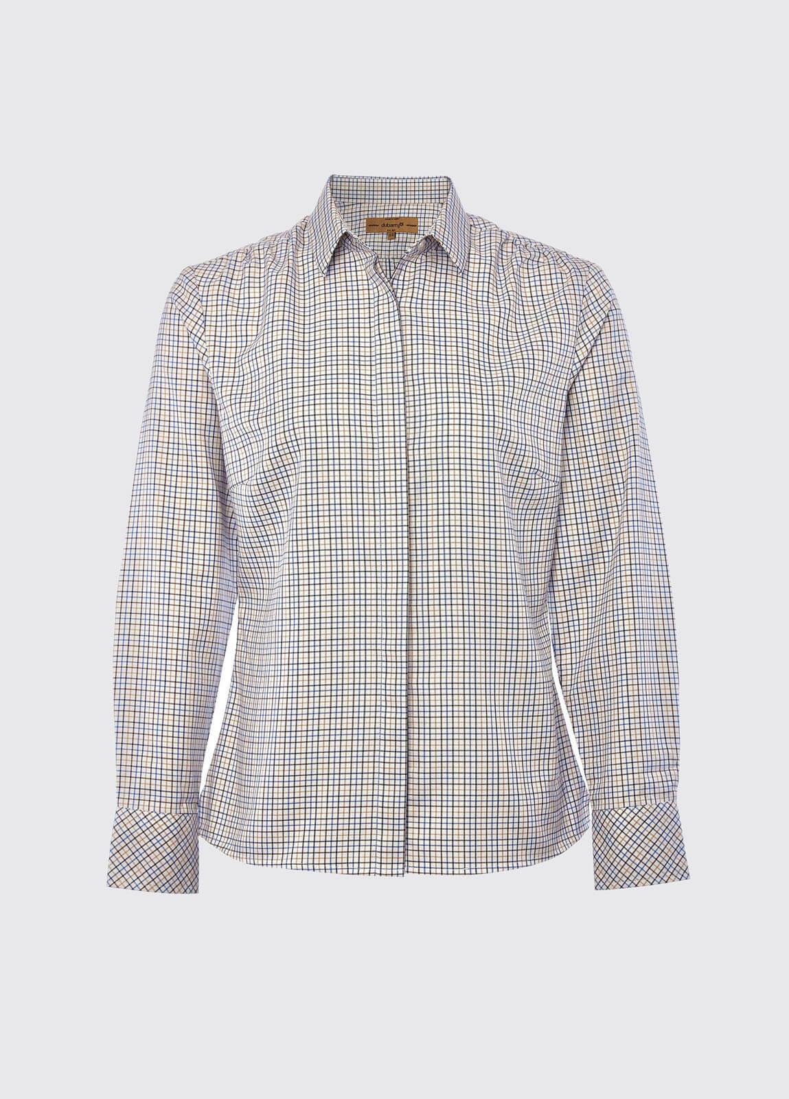 Meadow Shirt - Beige Multi