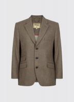 Gorse Regular Fit Tweed Jacket - Moss