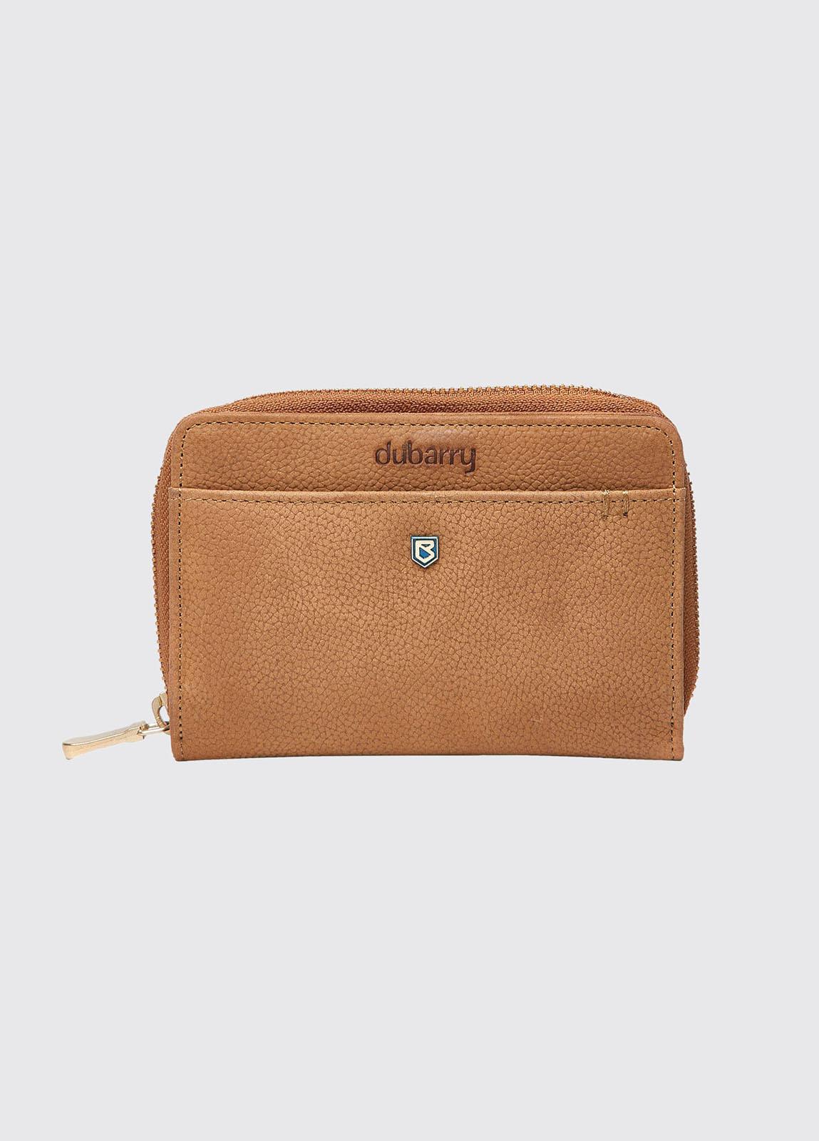 Portrush Leather Wallet - Tan