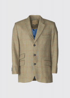 Gorse Regular Fit Tweed Jacket - Connacht Acorn