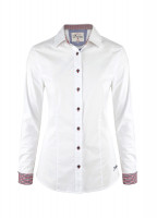 Carnation Womens Shirt - White