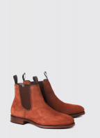 Kerry Leather Soled Chelsea Boot - Walnut