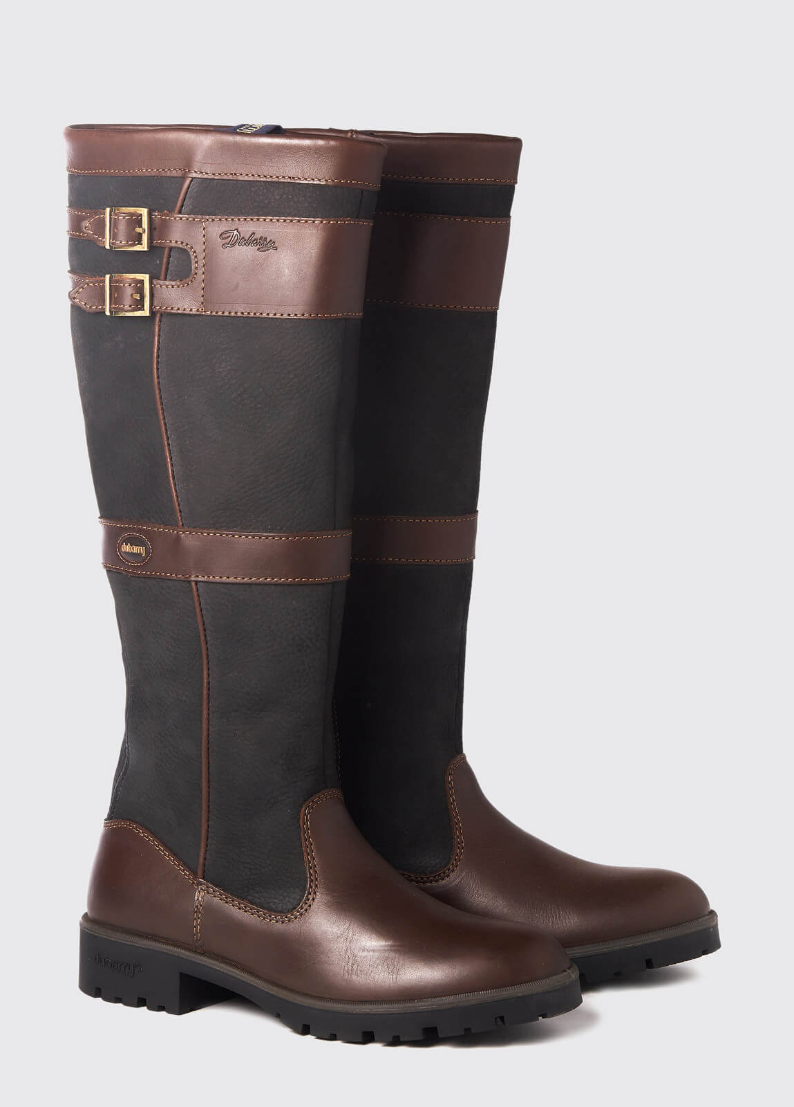 Longford Country Boot - Black/Brown