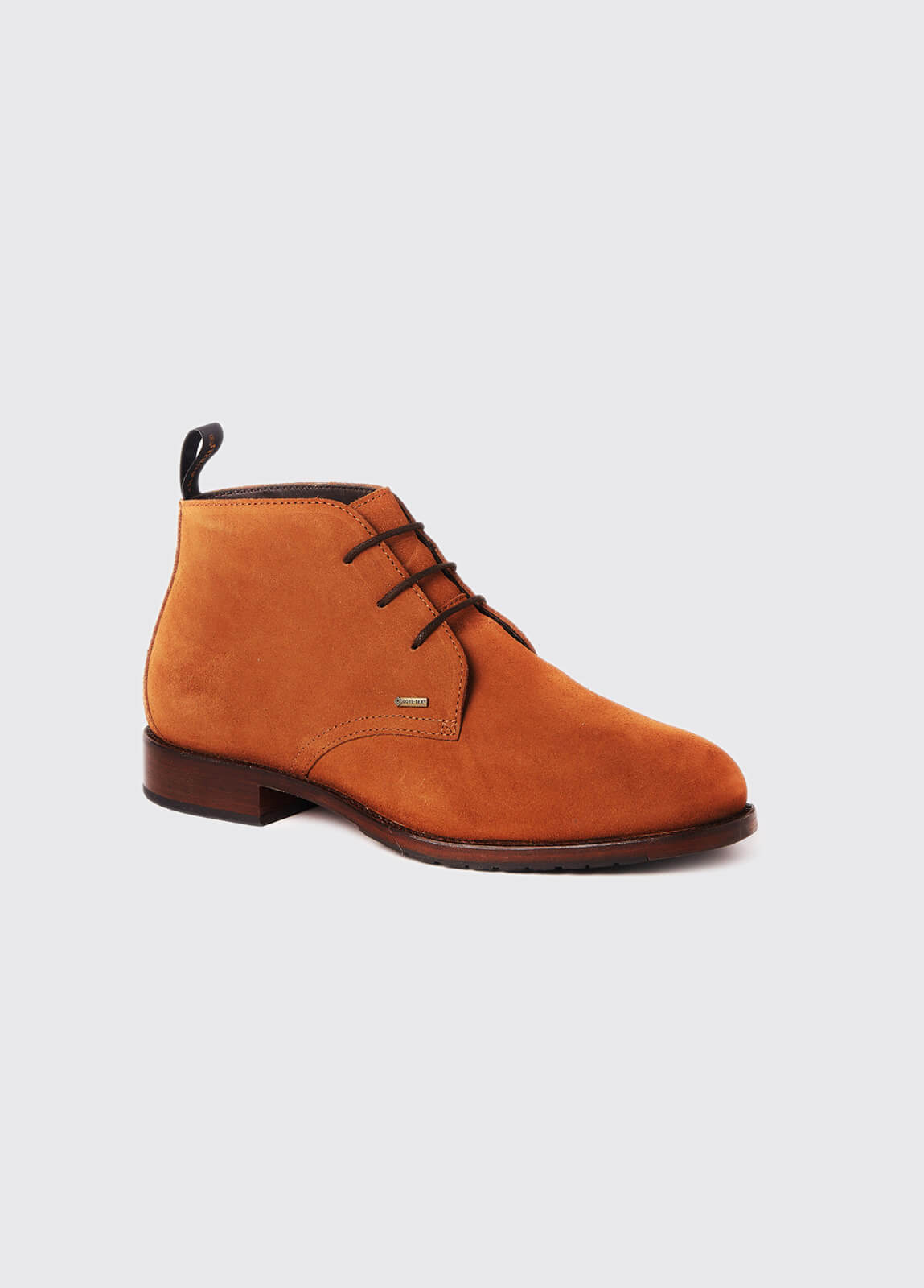 Waterville Mid Top Leather Boot - Camel