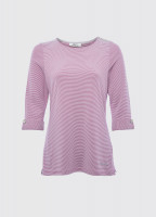 Portmagee Stripe Top - Cerise