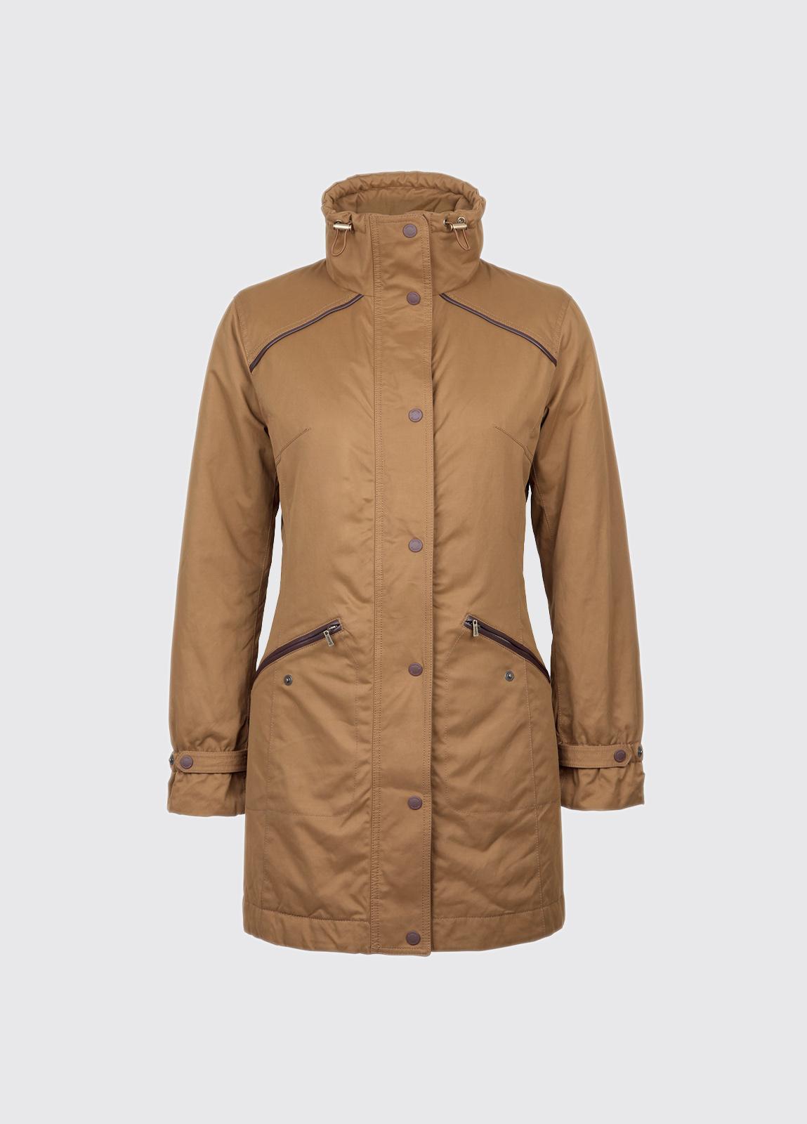 Leonard Womens Waterproof Coat - Autumn Gold