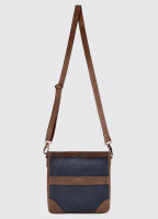 Ardmore Cross Body Bag - Navy/Brown