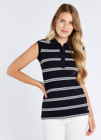 Mohill Sleeveless Top - Navy