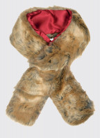 Faux Fur Scarf - Chinchilla