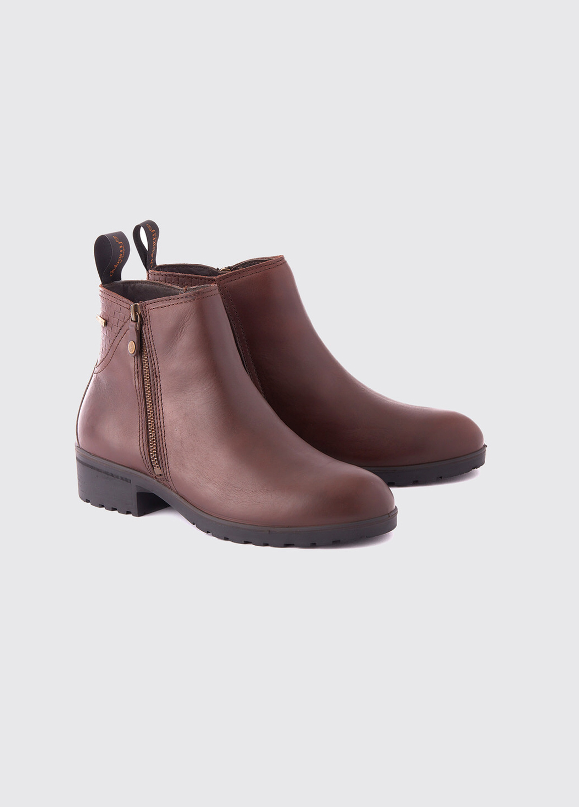 Carlow Leather Boot - Mahogany