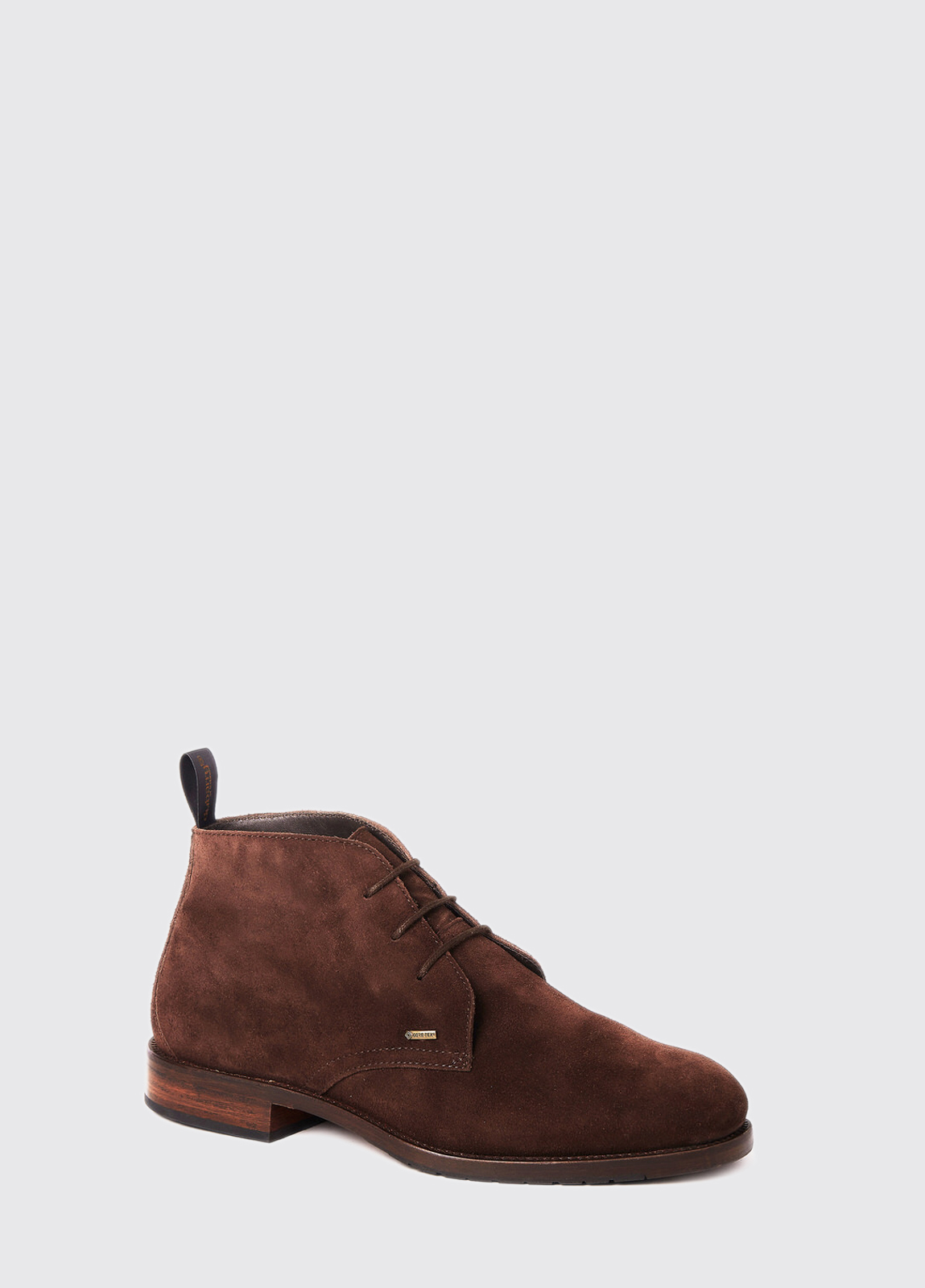 Waterville Mid Top Leather Boot - Cigar