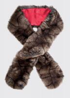 Faux Fur Scarf - Elk