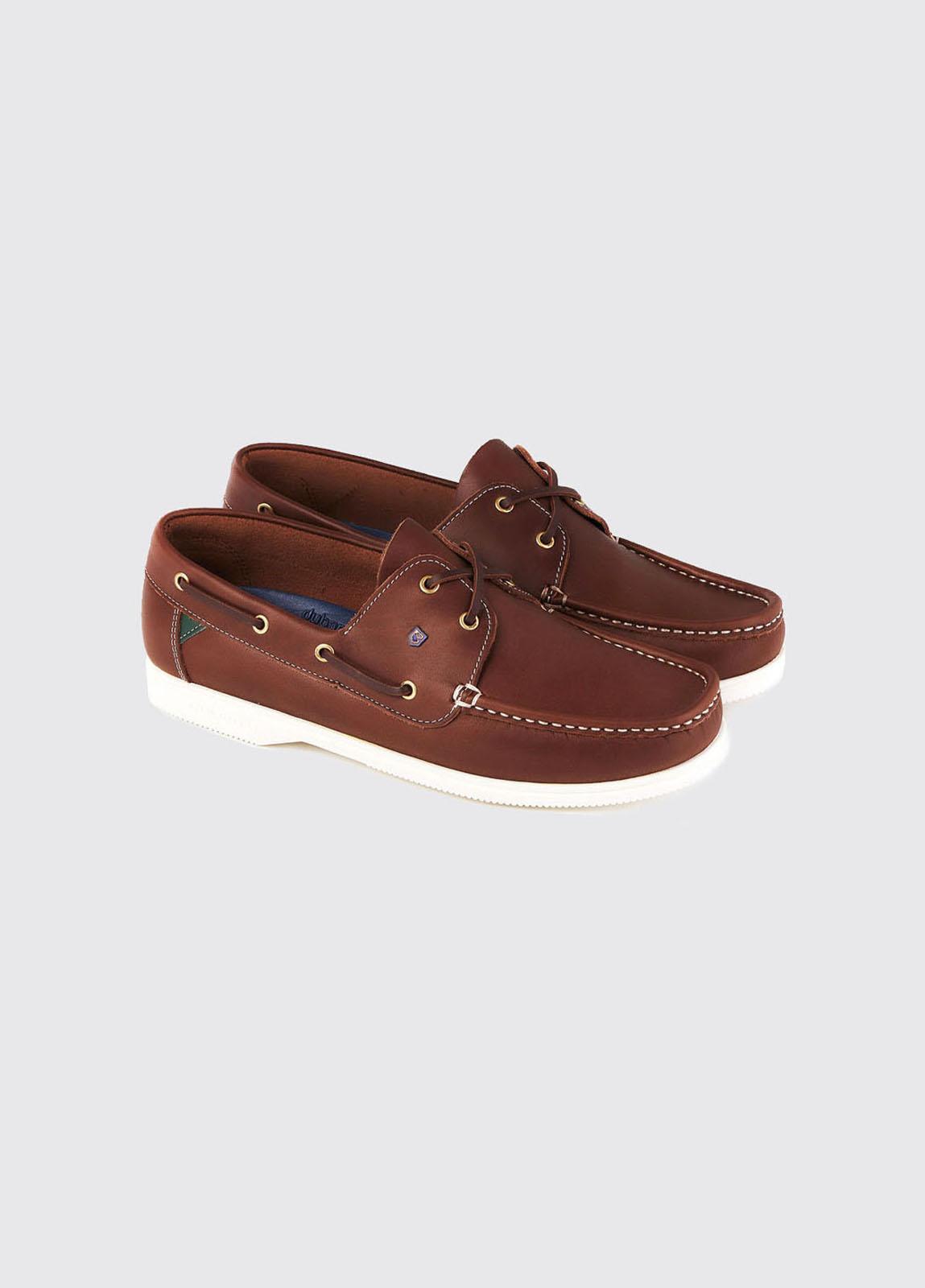 Admirals Deck Shoe - Brown