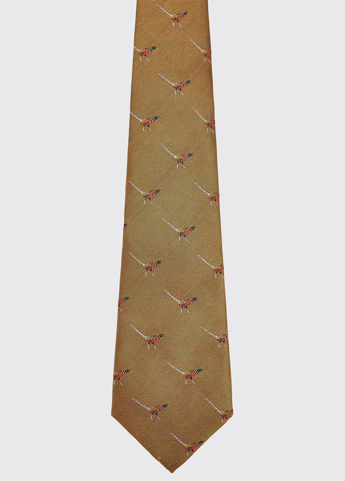 Madden Silk Tie - Gold