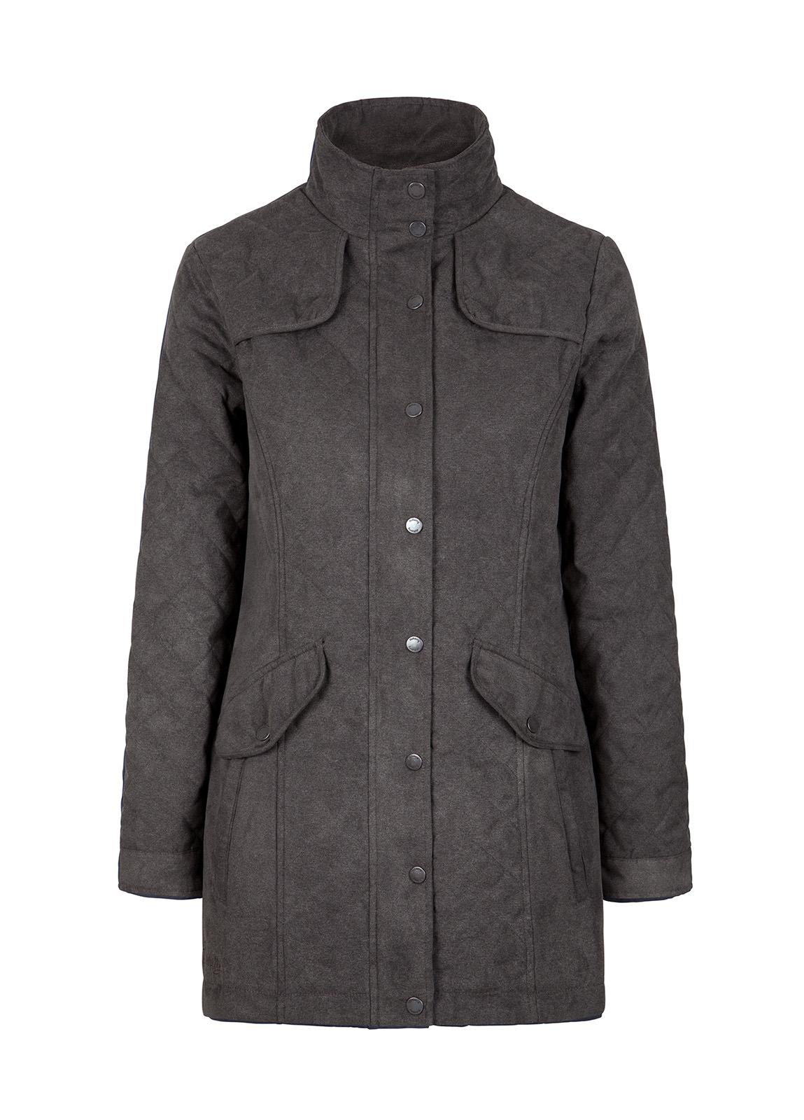 best wholesaler large discount famous brand Kanturk Womens Quilted Coat - Graphite