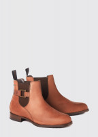 Monaghan Leather Soled Boot - Chestnut