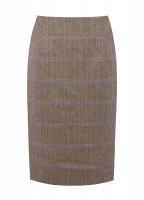 Fern Tweed Skirt - Woodrose