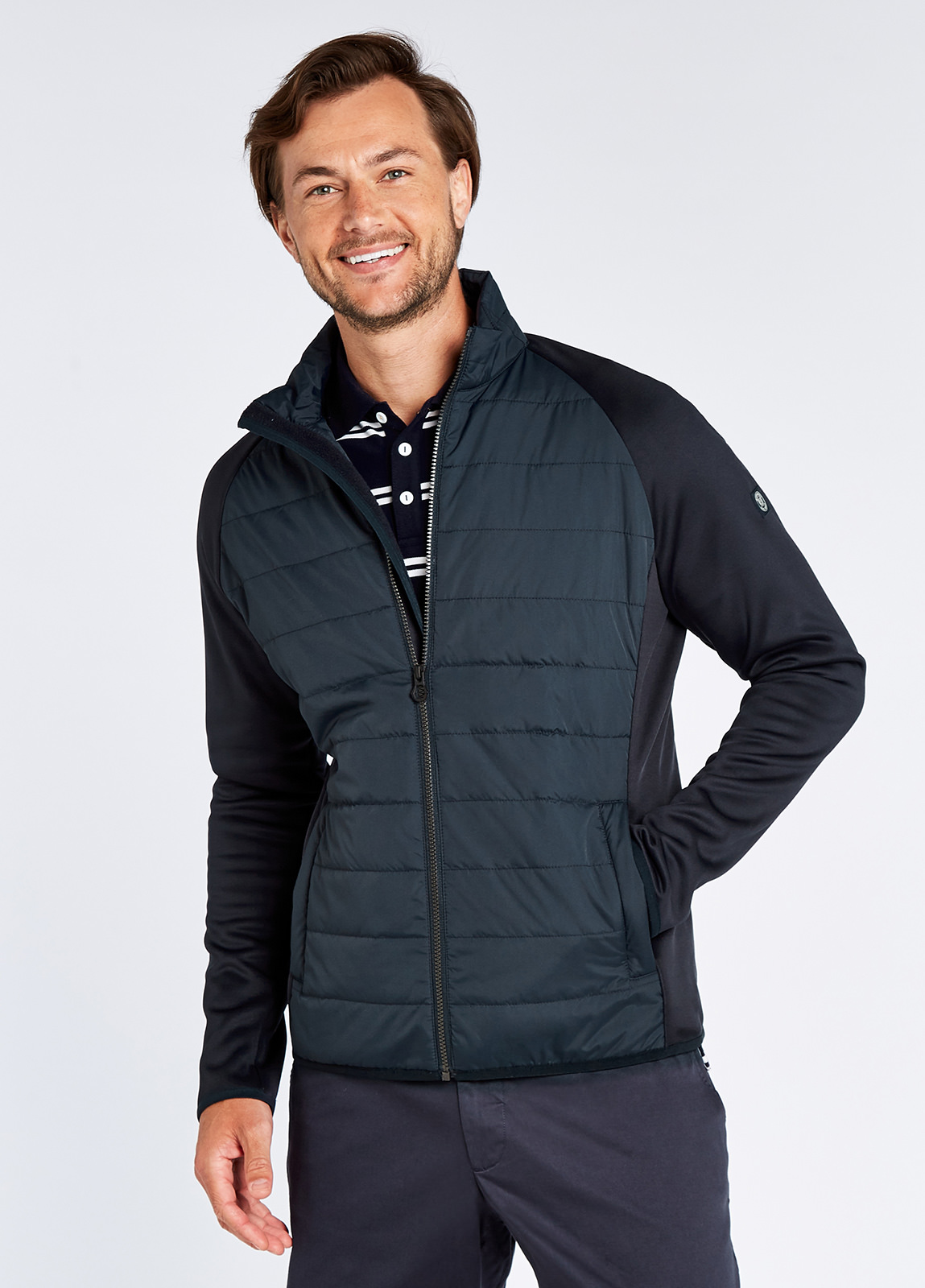 Liffey Jacket - Navy