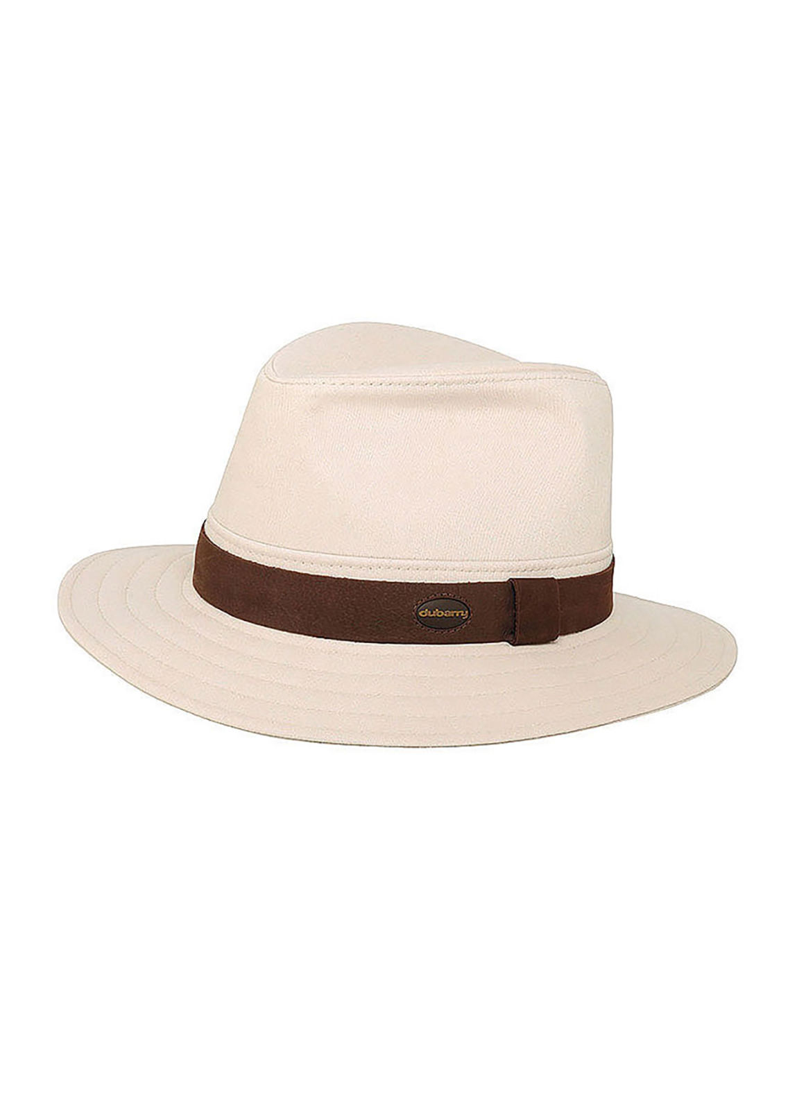 Dubarry_ Robert Fedora style hat - Stone_Image_1
