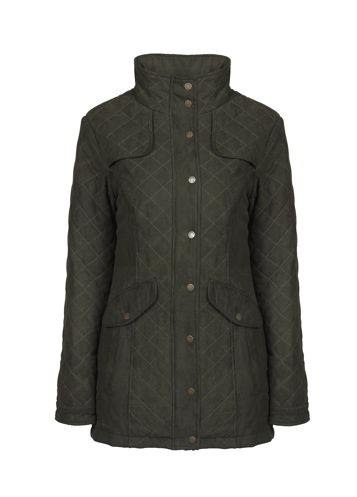 Dubarry_Kanturk Womens Quilted Coat - Verdigris_Image_2