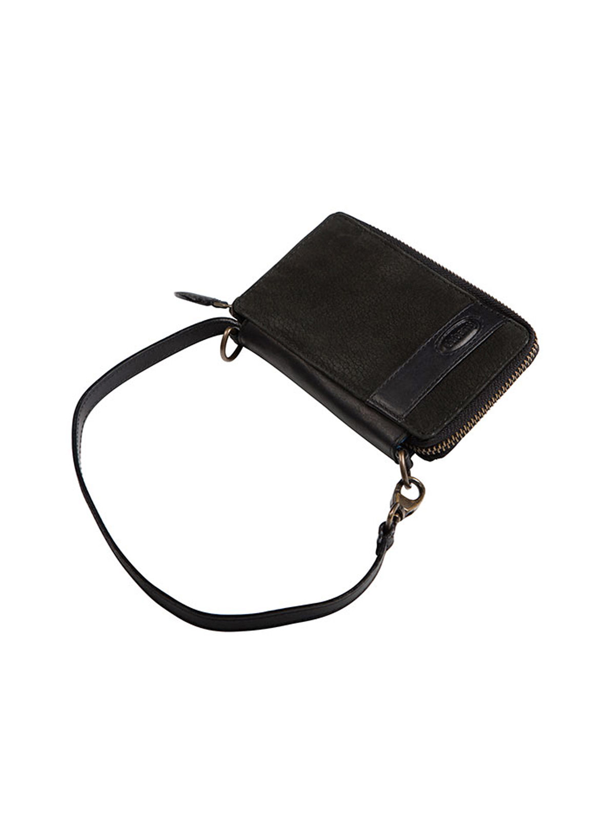 Emyvale Leather Purse and Phone Case - Black