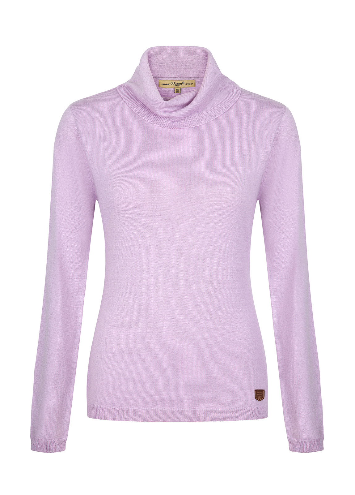 Dubarry_ Redmond Classic Roll Neck Knitted Sweater - Pebble_Image_2