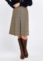 Spruce Tweed Skirt - Woodrose