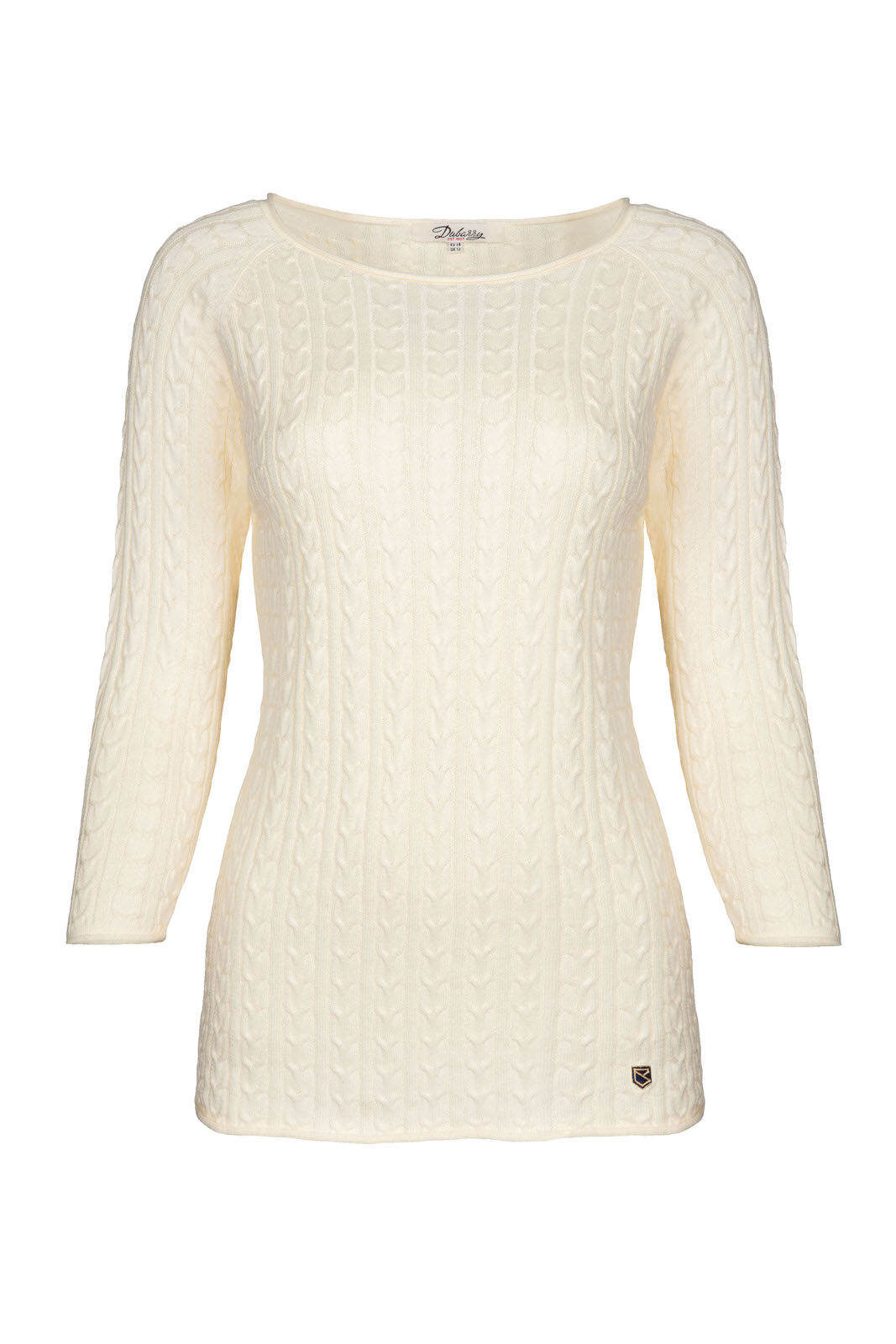 Dubarry_ Caltra Sweater - Sail White_Image_2