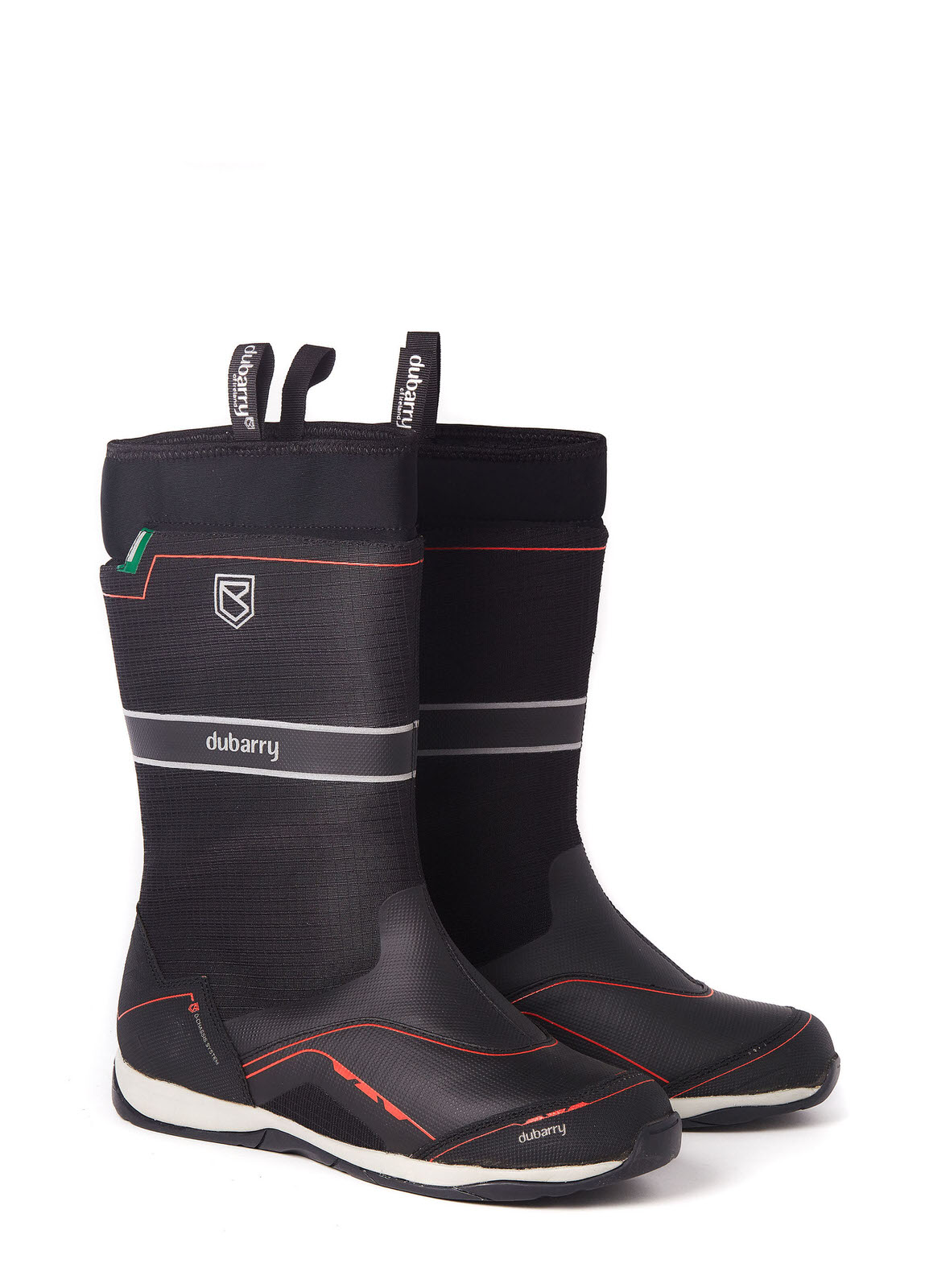Fastnet Sailing Boot - Black