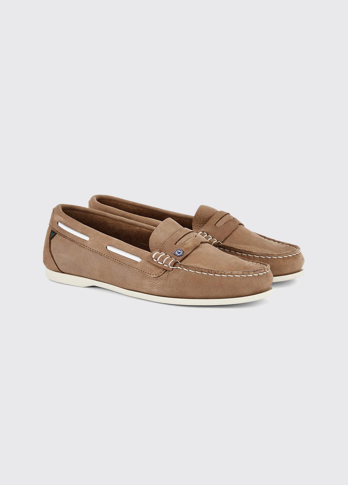 Belize Deck Shoe - Taupe
