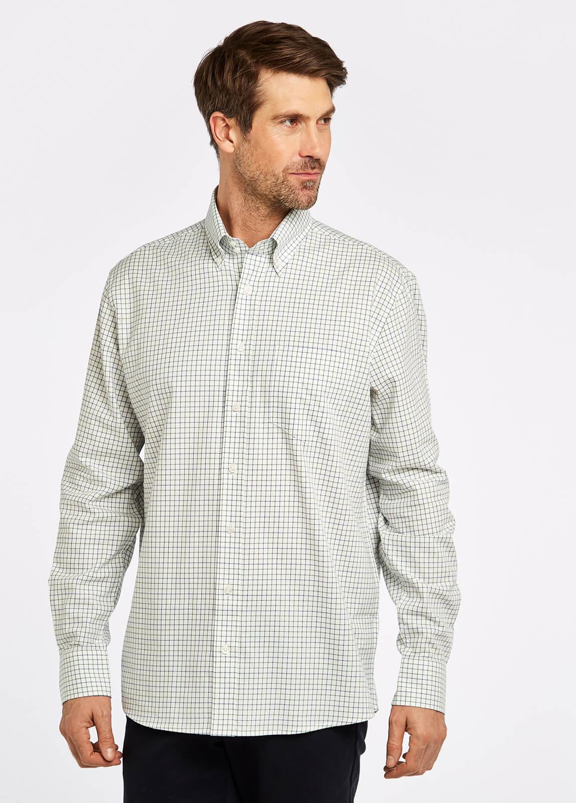 Muckross Shirt - Dusky Green