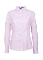 Petunia Floral Trim Shirt - Pink