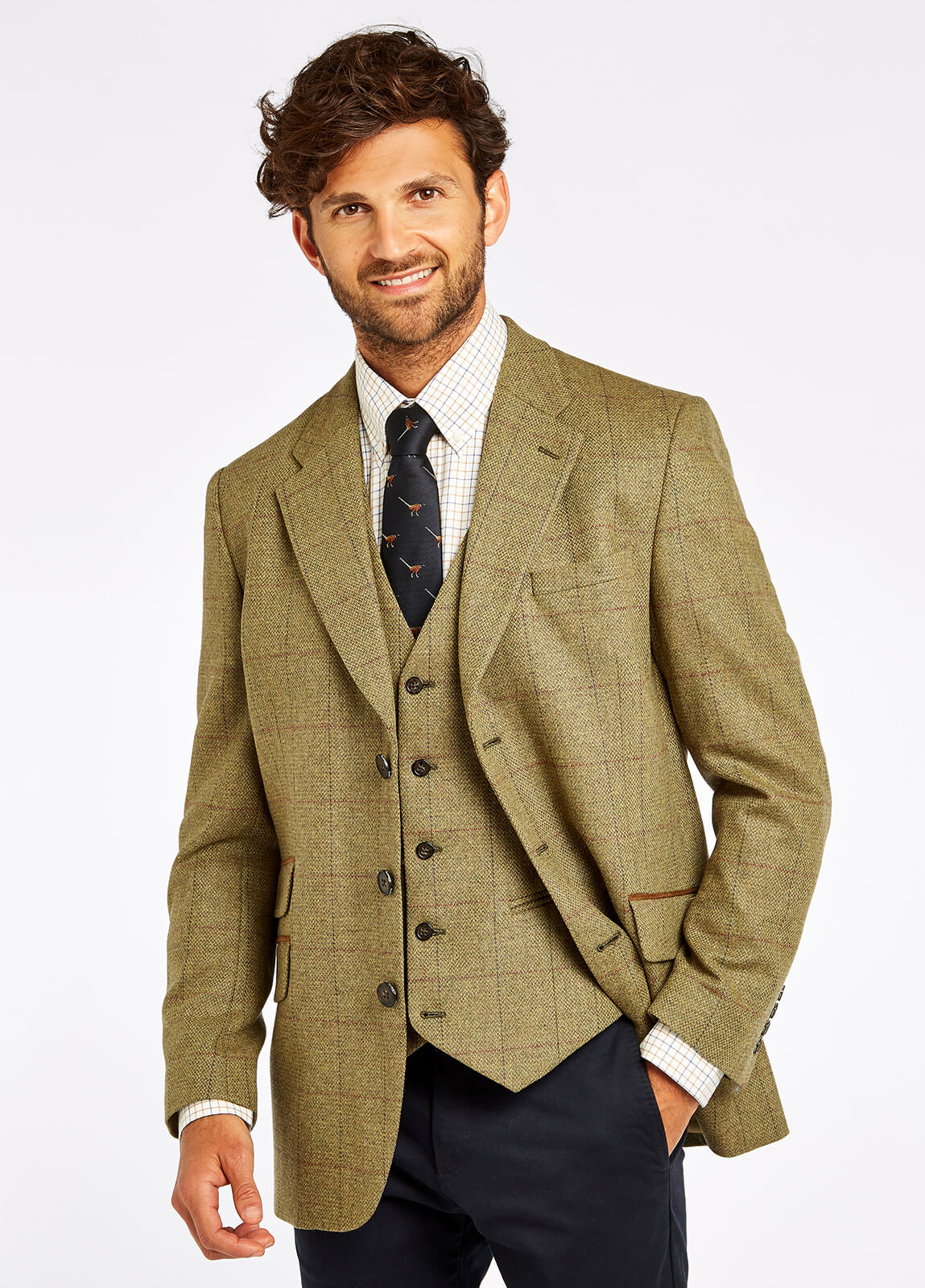 Rockingham Tweed Jacket - Beechwood