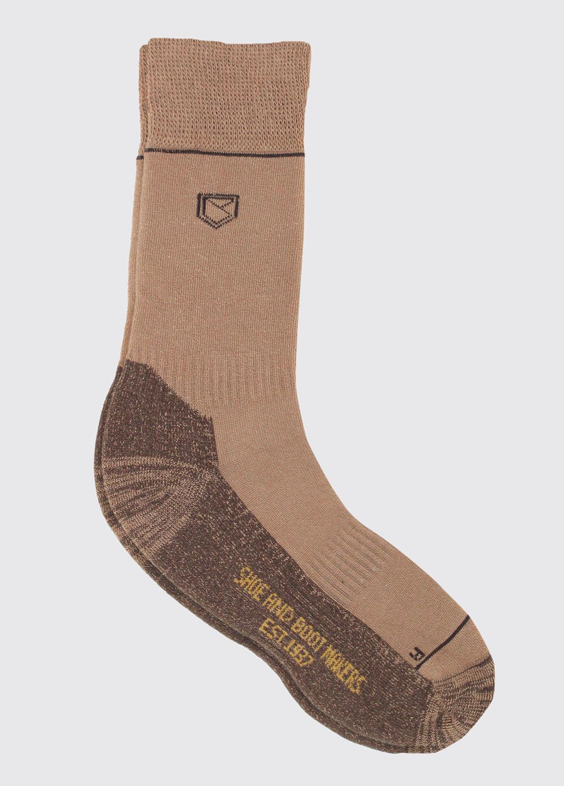 Kilkee Socks - Sand